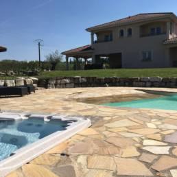pool house - espaces réceptifs